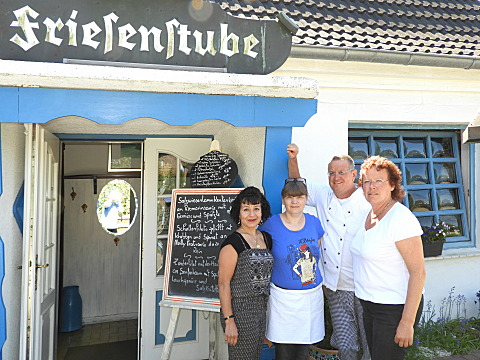 Team des Restaurants Friesenstube in Sankt Peter-Ording Dorf